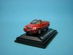 Mercedes-Benz CLK320 Convertible red 1:72 Cararama